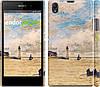 "Чехол на Sony Xperia Z1 C6902 Маяк и лодки ""166c-38"""