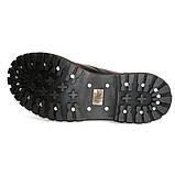 Средние ботинки Steel бордово-черные с эффектом затертости 8 дырок 113/114/O/Y/R/B, фото 2