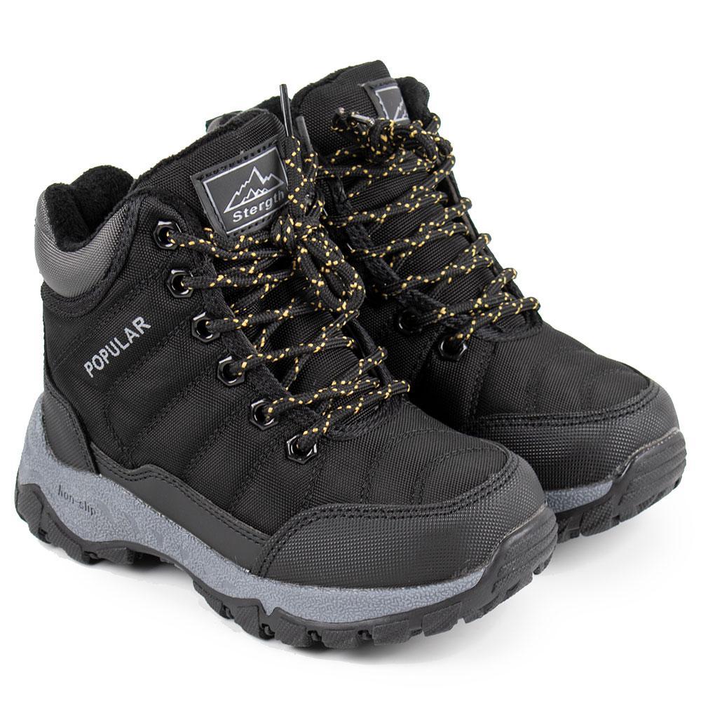 Ботинки зимние для мальчиков Jong Golf 29  черный 980706