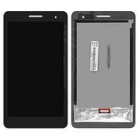 Дисплей для планшета Huawei MediaPad T1 7.0 T1-701u, черный, с сенсорным экраном, #P070ACB-DB1 rev A0
