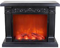"""Камин декоративный """"Black&Fire"""" с LED подсветкой, 42х18х33см"""