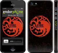 """Чехол на iPhone 5s Игра престолов. Targaryen """"1139c-21"""""""