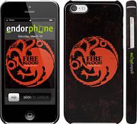 """Чехол на iPhone 5c Игра престолов. Targaryen """"1139c-23"""""""
