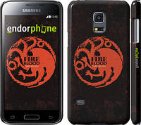 "Чехол на Samsung Galaxy S5 mini G800H Игра престолов. Targaryen ""1139c-44"""