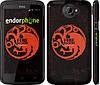 "Чехол на HTC One X Игра престолов. Targaryen ""1139c-42"""