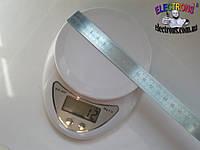 Весы электронные, кухонные 5 кг, цена деления 1 грамм