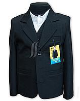 Костюм школьный полушерсть 3-ка ( пиджак+жилет+брюки), 2-ка (пиджак+брюки)