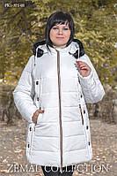 Куртка из стеганой плащевки ПК1-371(54-64)