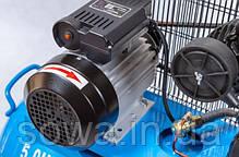✔️ Компрессор двухпоршневой  - AL-FA_ Альфа ALC-150-2 ( 150 літрів, 2 поршня, 3,8 кВт ), фото 3