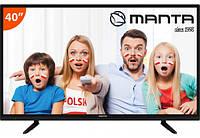 Телевизор 40-дюймовый Manta LED 40 Телевізор 100Гц ПОЛЬША Формат HD: Full HD