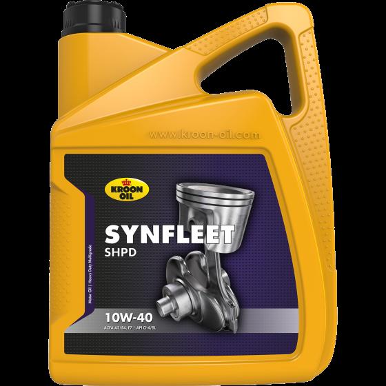 Моторне масло Kroon Oil SYNFLEET SHPD 10W40 (5л)