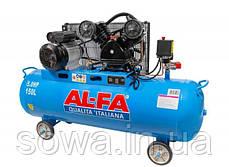 ✔️ Компресор AL-FA | Альфа ALC-150-2 / 150 літрів, 2 поршня, фото 2