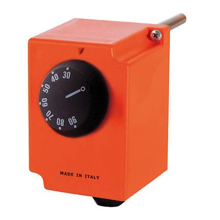 Термостат регулируемый погружной с контактом ICMA 611 (Италия), фото 2
