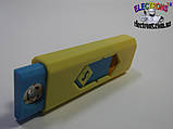 Зажигалка электронная USB со встроенным аккумулятором, фото 4
