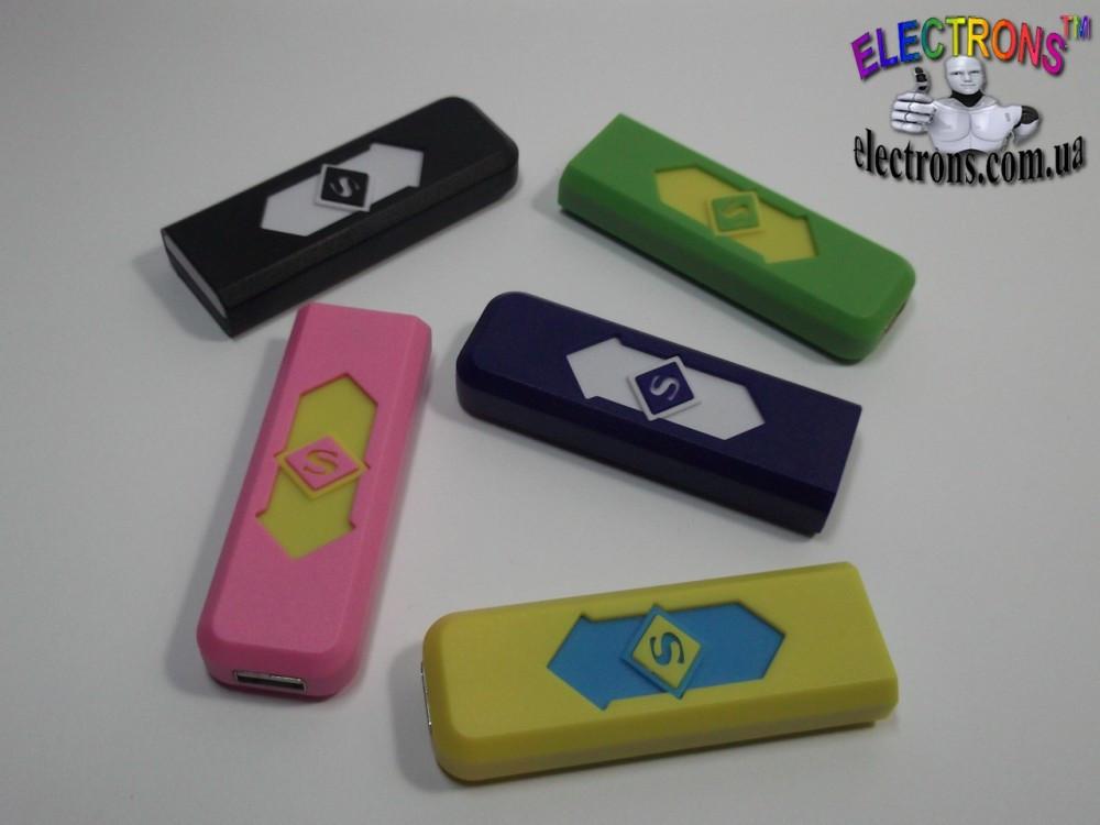 Зажигалка электронная USB со встроенным аккумулятором