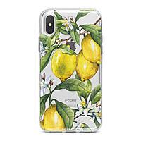 Чехол силиконовый для Apple iPhone (Лимоны, цитрусовые) 5/5s/SE 6/6s 6+/6s+ 7/7 plus 8/8+ 11 Pro про эпл айфон плюс X XS XsMax XR silicone case