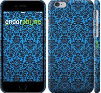 """Чехол на iPhone 6 Синий узор барокко """"2117c-45"""""""