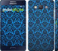 "Чехол на Samsung Galaxy A5 A500H Синий узор барокко ""2117c-73"""