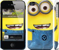 "Чехол на iPhone 4 Миньоны 7 ""859c-15"""