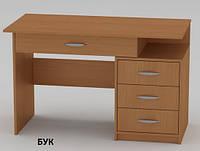 Стол письменный Студент-2 для офиса или дома, с выдвижными ящиками
