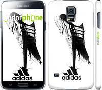 "Чехол на Samsung Galaxy S5 Duos SM G900FD Адидас ""2388c-62"""