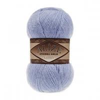 ANGORA GOLD SIMLI 40 голубой - 20% шерсть, 5% металлик, 75% акрил
