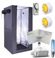 Гроубокс комплект Днат 250 Вт (Венгрия) + отражатель + вентиляция + таймер