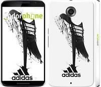 "Чехол на Motorola Nexus 6 Адидас ""2388c-67"""