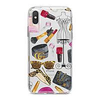 Чехол силиконовый для Apple iPhone (Мода и стиль) 5/5s/SE 6/6s 6+/6s+ 7/7 plus 8/8+ 11 Pro про эпл айфон плюс X XS XsMax XR silicone case