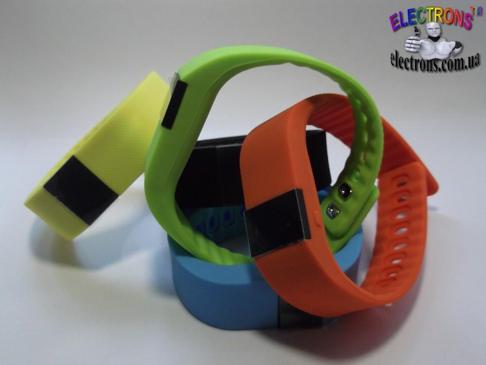 Фитнес смарт браслет наручные часы шагомер, счётчик калорий, сон