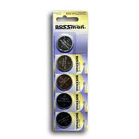 Батарейка литиевая Bossman CR2450 3V 5pcs blister card
