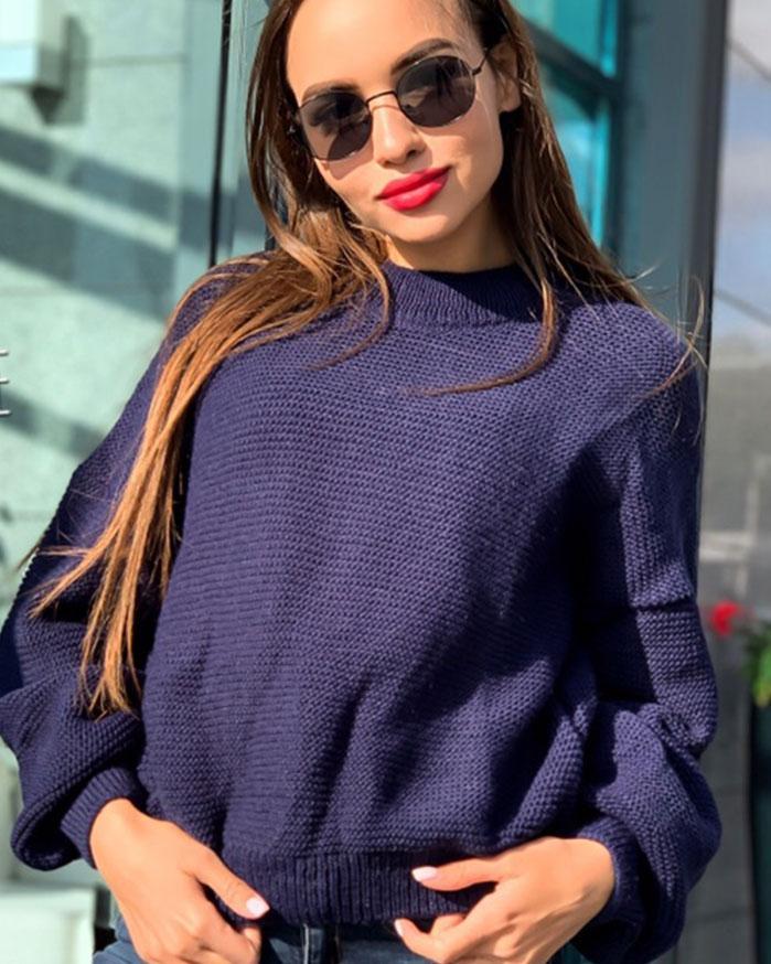 Объёмный свитер, 42-48