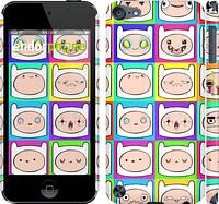 "Чехол на iPod Touch 5 Adventure time. Finn v2 ""1211c-35"""