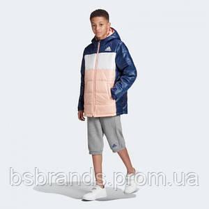 Детская утепленная куртка adidas COLORBLOCK PADDED K (АРТИКУЛ: FK5868)