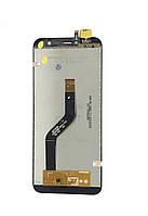 Дисплей для мобильного телефона Cubot X18, черный, с тачскрином