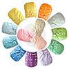 Многоразовые подгузники однотонные для детей с рождения