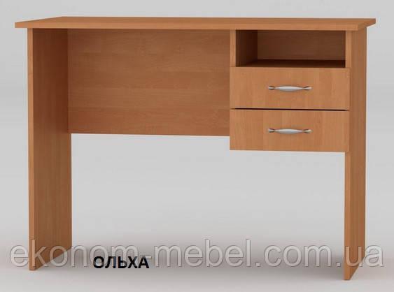Стол письменный Школьник 100 см компактный с ящиками