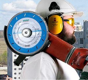 Алмазные диски Distar для УШМ.
