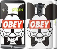 "Чехол на LG G3 D855 Obey. Mickey mouse ""909c-47"""