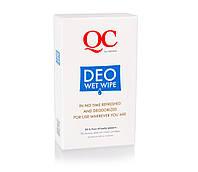QC Deo-Wet-Wipes Дезодорант в салфетках, 1 уп/10 шт