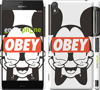 "Чехол на Sony Xperia Z3 dual D6633 Obey. Mickey mouse ""909c-59"""