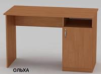 Стол письменный Ученик для ребенка, подростка, в офис под ноутбук, однотумбочный