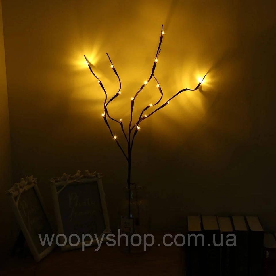 Светодиодная декоративная ветка. Декор