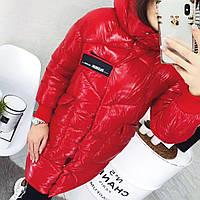 Женская зимняя куртка с капюшоном. Китай