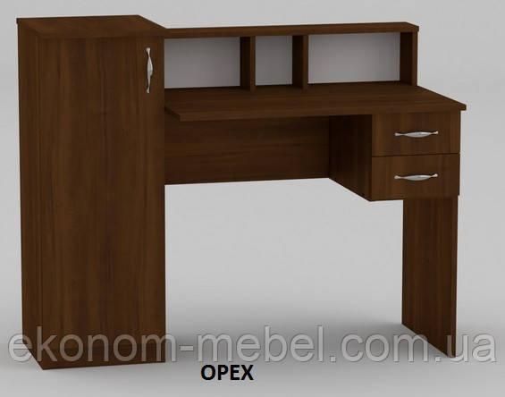 Стол письменный Пи-Пи-1 с тумбой и ящиками для дома и офиса