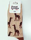 Носки Neseli Daily Жирафы коричневые 5835, фото 3