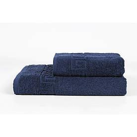 Полотенце Iris Home - Бордюр lacivert синий 50*90