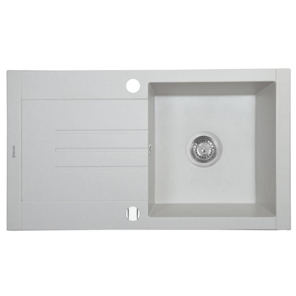 Мойка кухонная PERFELLI TINETTO PGT 114-76 WHITE