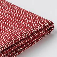 VIMLE Чехол на диван листьев в форме стула изготовл литовский У, 6 спальных мест, с открытым концом, Dalstorp разноцветные
