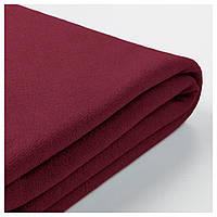 GRÖNLID Чехол на диван угловой, 4 спальных места, с открытым концом, Ljungen темно-красный